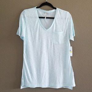 Calvin Klein Jeans Shirt V-Neck Slub Shirt